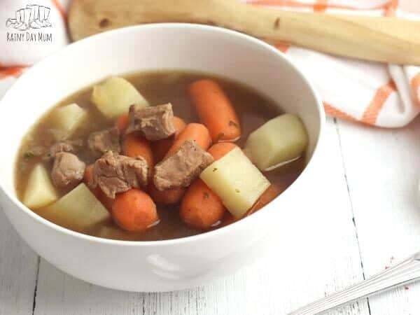 lamb stew in a bowl