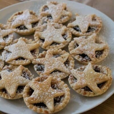 Star Topped Christmas Mince Pies Recipe to Make with Kids