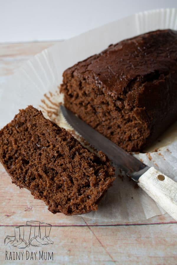 super moist gingerbread loaf cake