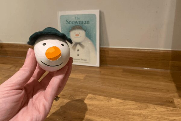 The Snowman Sensory Stressball for Kids (and you)