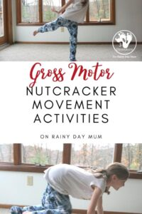 Christmas Nutcracker Movement Activities for Kids