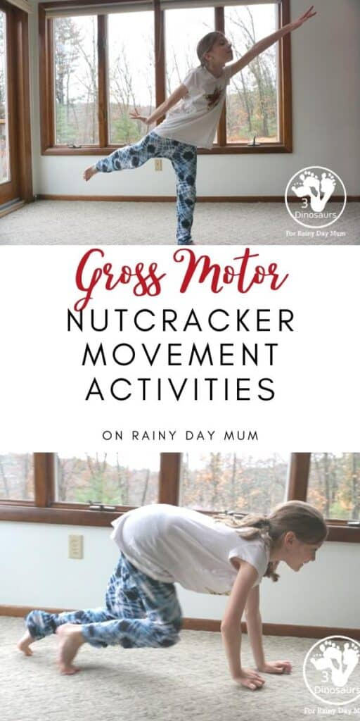 Christmas Nutcracker Movement Activities for Kids
