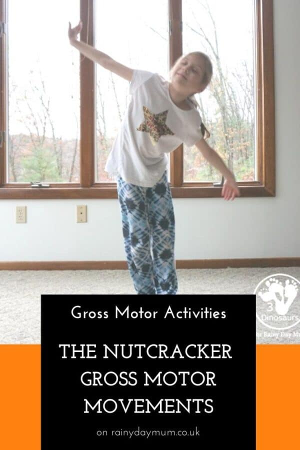 Gross Motor Movement Activities for The Nutcracker