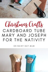 Christmas Craft for Kids - make your own Nativity Set