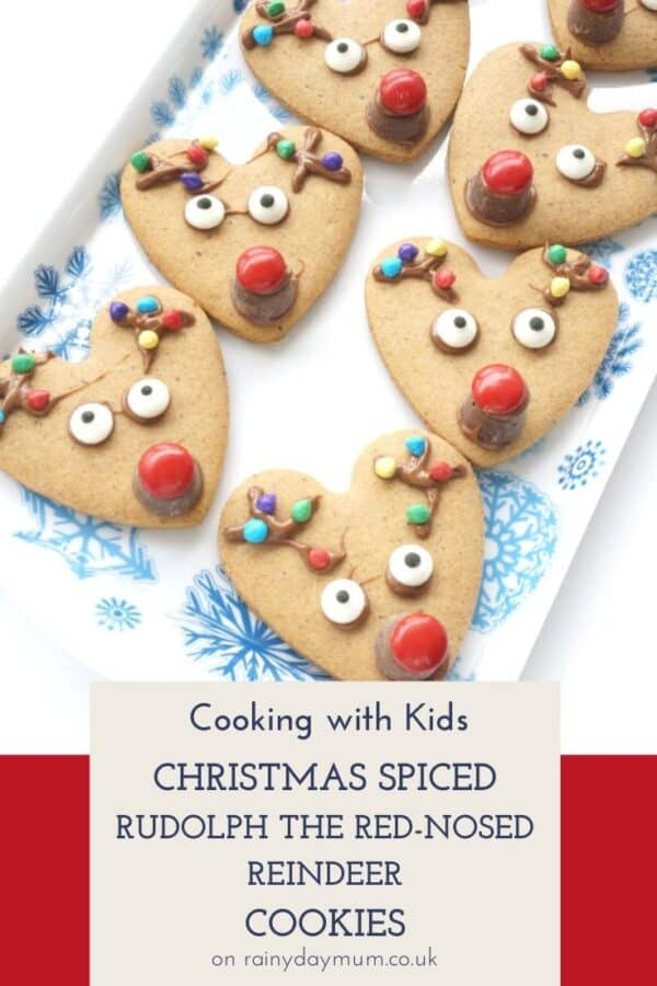 Cooking with Kids - Christmas Spiced Reindeer Cookies
