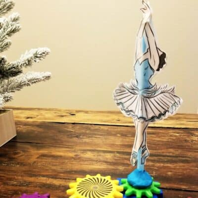 Dancing Ballerina Nutcracker STEM Activity