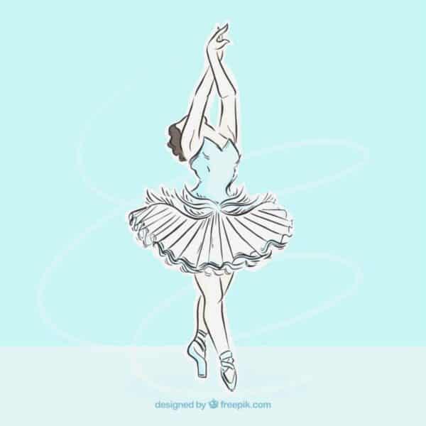 dancing ballerina image 1