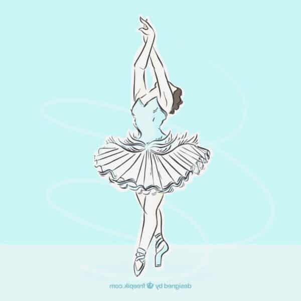 dancing ballerina image 2
