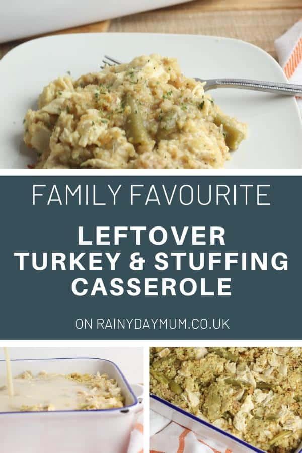Family Favourite Recipe - Leftover Turkey and Stuffing Casserole