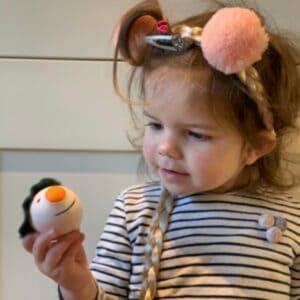The Snowman Sensory Stressball DIY