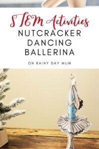 STEM Activities for Kids Nutcracker Dancing Ballerina
