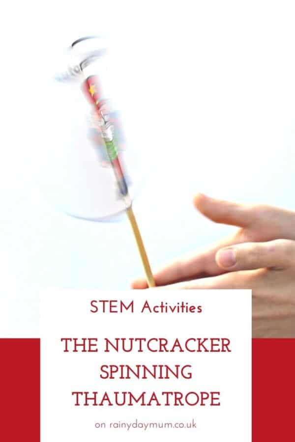 The Nutcracker Thaumatrope Printable Activity