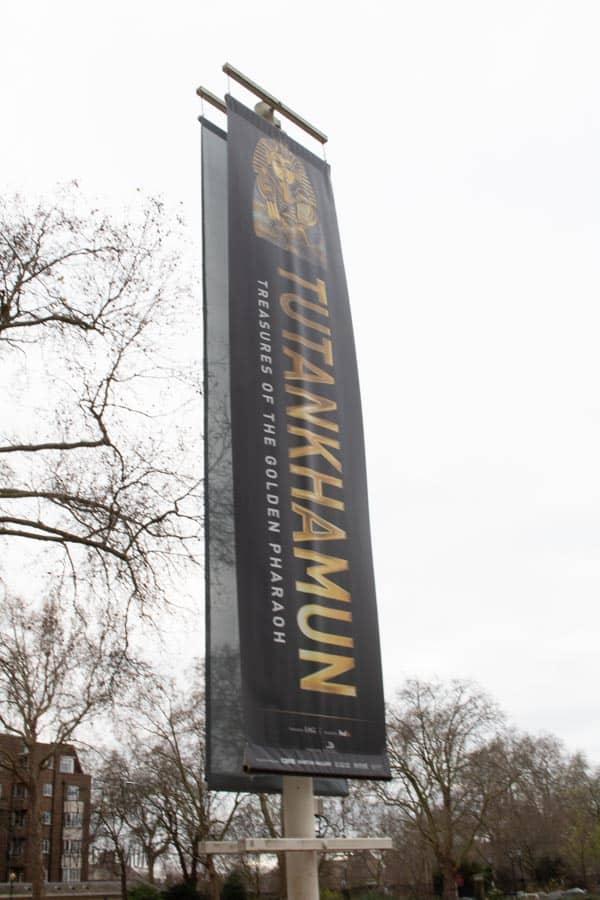 tutankhamun exhibit London 2019