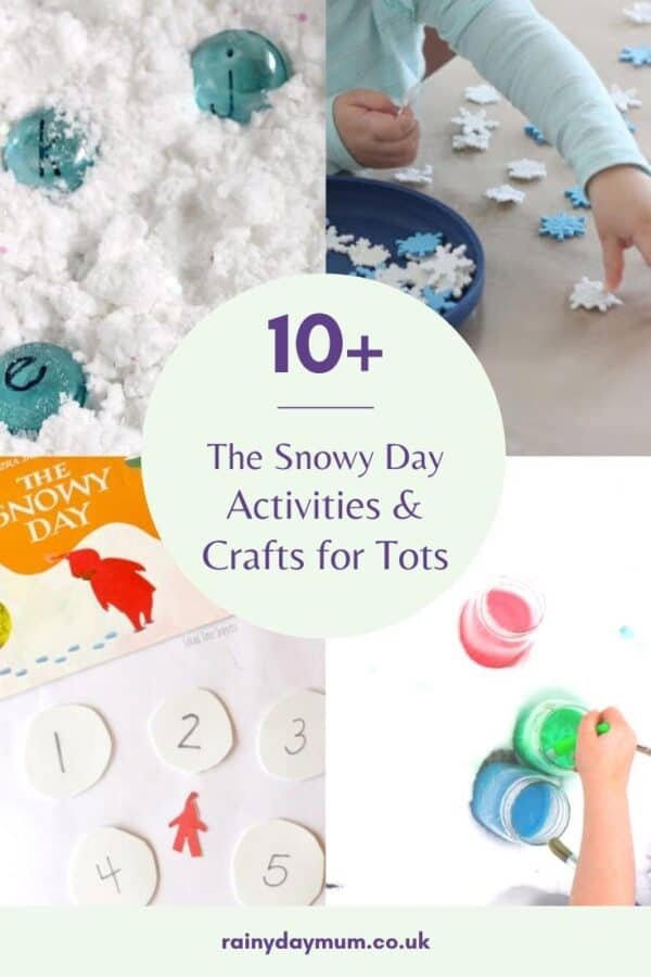 Simple Activities and Crafts inspired by the book The Snowy Day