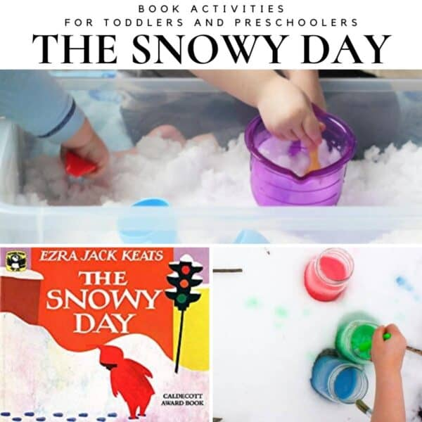 Activities and Crafts for Toddlers and Preschoolers Based on the Award Winning Children's Book The Snowy Day by Ezra Jack Keats