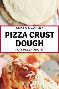 Bread Machine Pizza Crust Dough