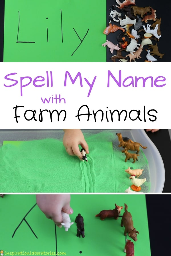 farm animal name game for toddlers and preschoolers