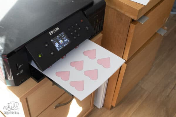 Epson EcoTank ET7700 printing kids crafts