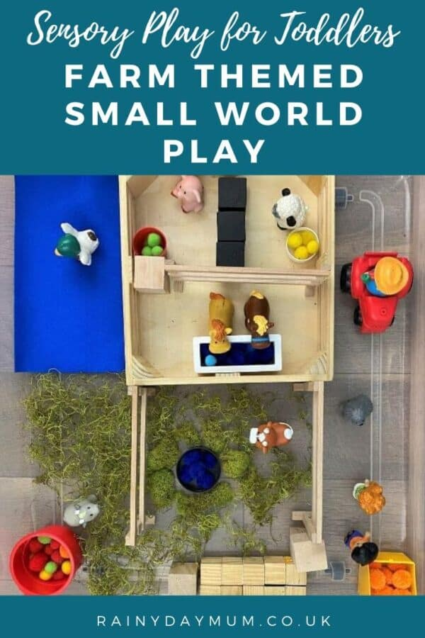 Farm Themed Small World Play Idea for Toddlers and Preschoolers