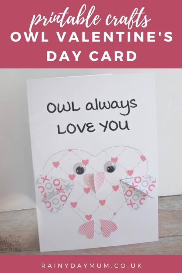 Owl Valentine's Day Card