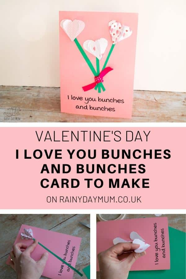 Valentine's Day FREE Printable Card to make