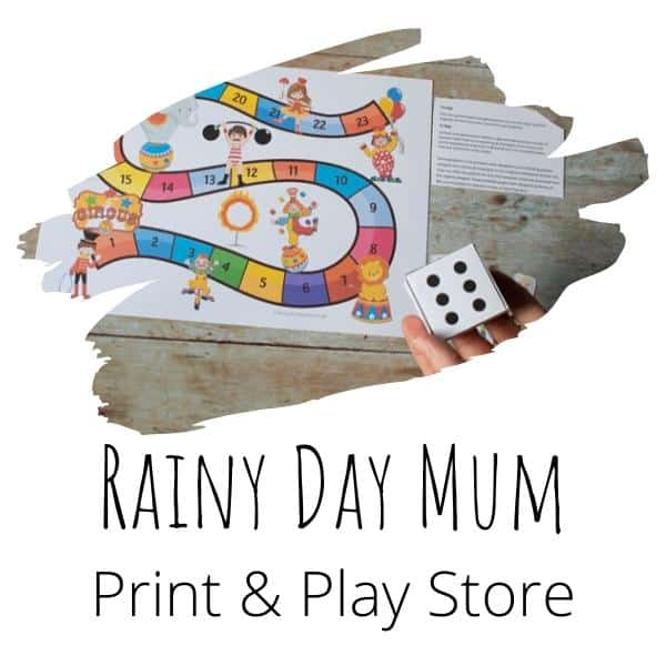 rainy day mum print and play store