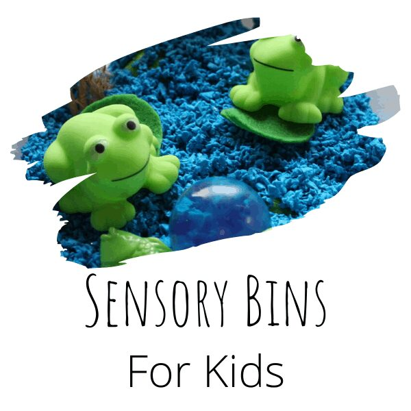 Ideas for a Year of Fun Sensory Bins for Kids