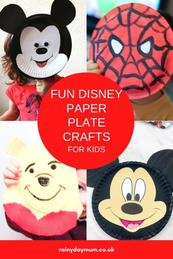 Disney Paper Plate Crafts for Kids