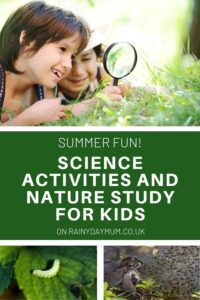 summer fun Science Activities and Nature Study for Kids