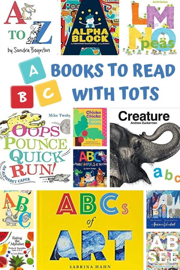 covers of the rainy day mum favourite abc books to read with toddlers and preschoolers