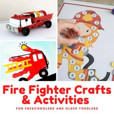 Fun Firefighter Crafts and Activities for Preschoolers