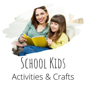 activities and crafts for your bigger kids to do includes education, crafts and fun activities
