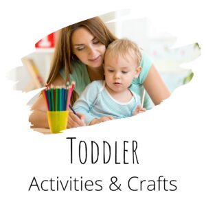 toddler activities and crafts to do together at home