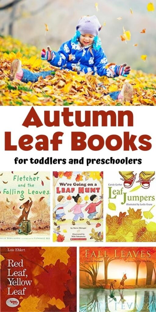 Autumn Leaf Books for Toddlers and Preschoolers with book covers to show the best