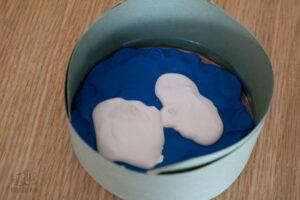 allow plaster of paris to harden