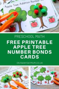 Pinterest Number Bond FREE Printable image