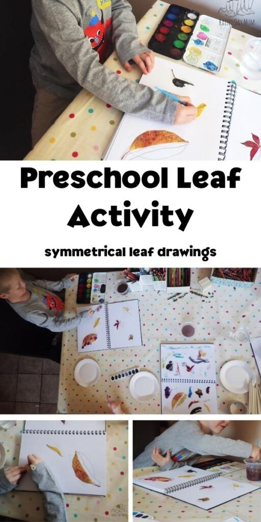 preschool leaf activity collage for pinterest