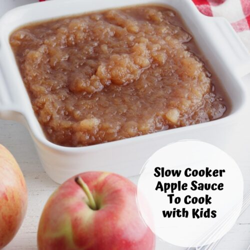 Delicious Slow Cooker Apple Sauce