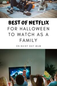 Families watching Spooky Movies together