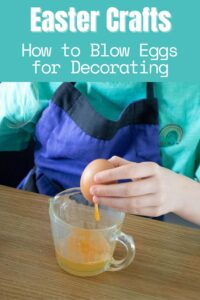 Pinterest Image Easter Crafts How to Blow Eggs for Decorating
