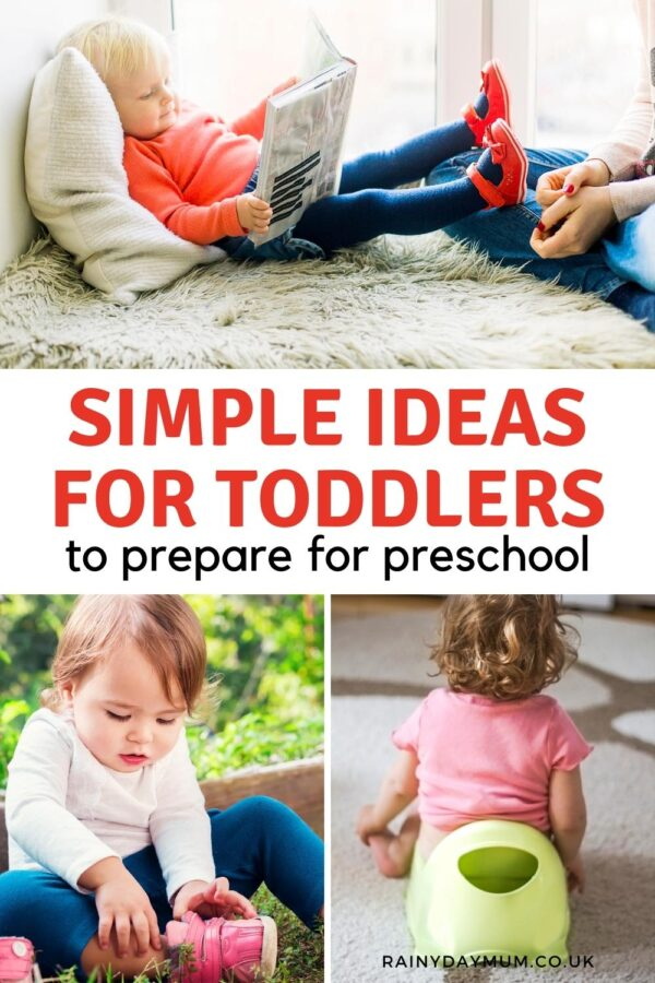 Simple ideas for toddlers to prepare for preschool