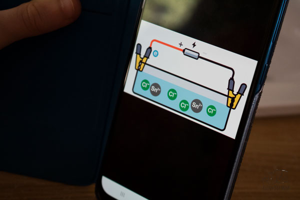 using the mel science app on the android phone