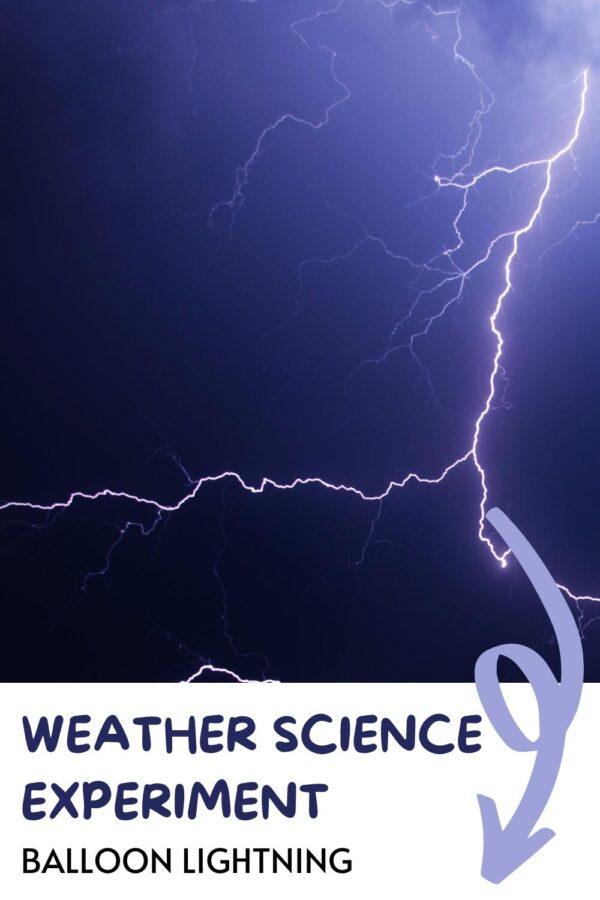 Weather Science Balloon Lightning Pinterest Image
