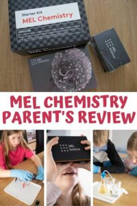 Pinterest Image for Parent's Review of the Mel Chemistry Subscription Box