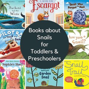 Snail Books for Toddlers and Preschoolers