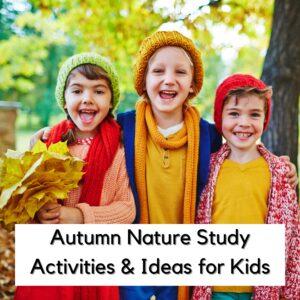 Autumn Nature Study Ideas and Activities
