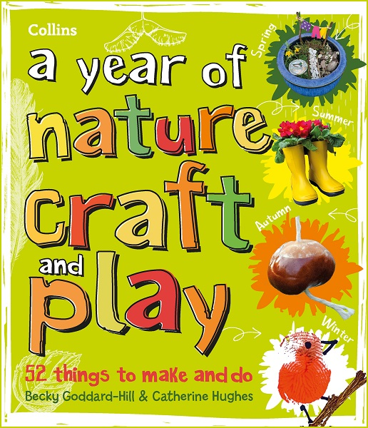 front cover of A Year of Nature Craft and Play book