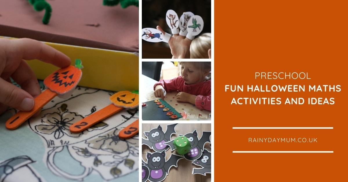 Halloween Maths Activities for Preschoolers