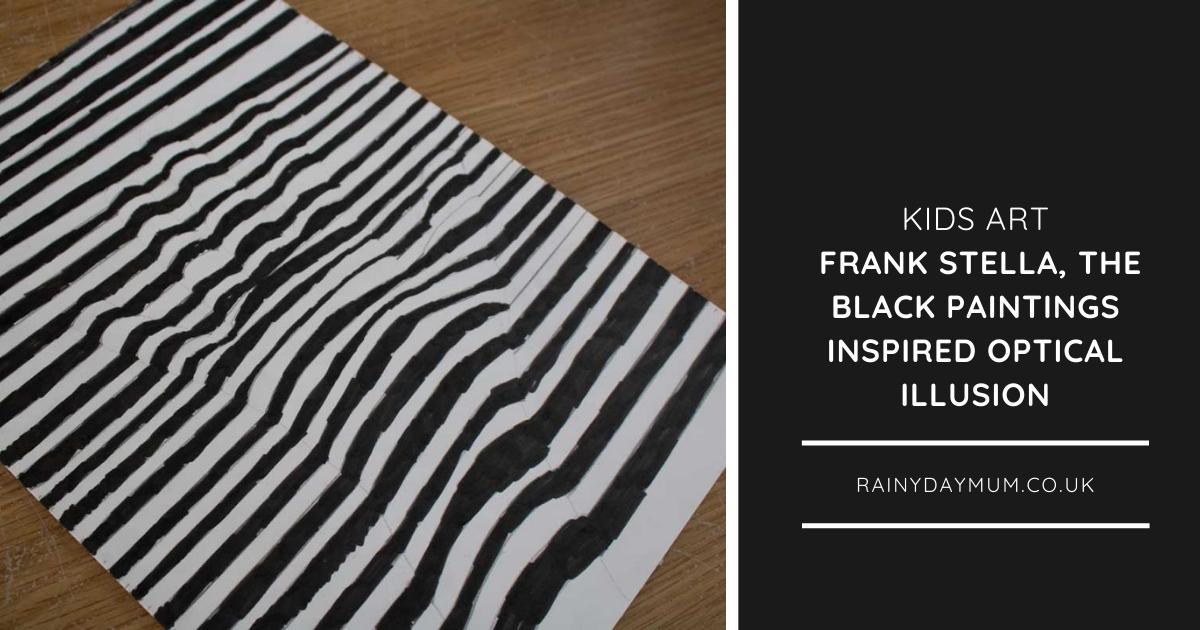 Frank Stella Artist Study for Kids – The Black Paintings