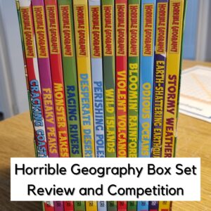 Horrible Geography Box Set For Kids